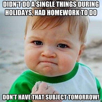 Down With Homework! | Scholastic com