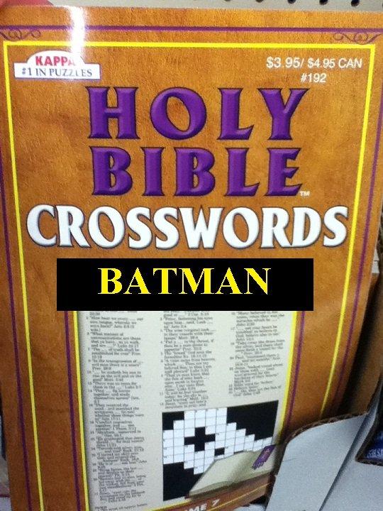 Holy Bible Crosswords. .