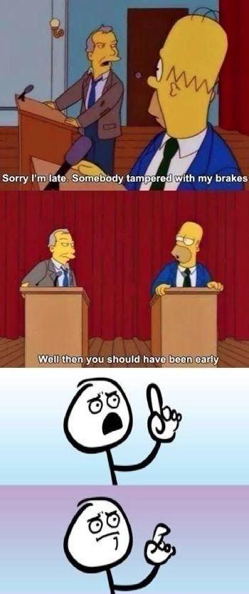 Homer Strikes Back. .