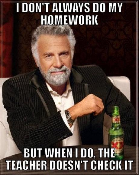 homework. .