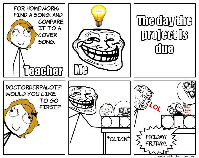 Homework story