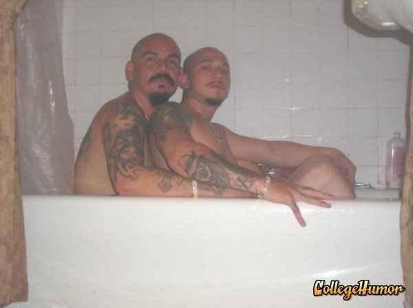homo boys. I've heard of home boys, but homo boys??? DAMN.. damn these dudes are hardcore homo boys