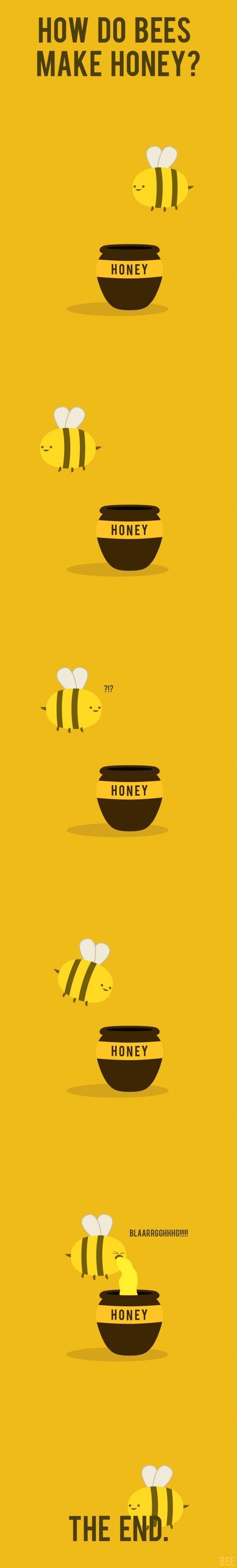 Honey. . IN BEES MAKE HONEY?. now roll it.