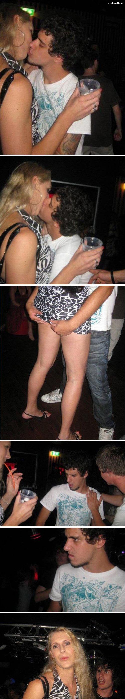 HOOKUP IN THE CLUB. Wrong gender lol.. Oopssssssss nightclub tranny cross dresser gay man