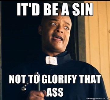 Horny Black Priest. meh.... Ttll BE ll Slit nun