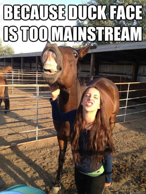 Horse Face. .