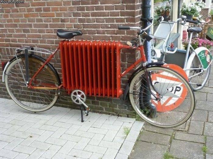 Hot bike. .