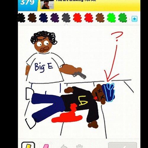How 2Pac Died.. .. 2gansta4u 420 420 OBEY biggie tupac notorious big biggie smalls Tupac Shakur