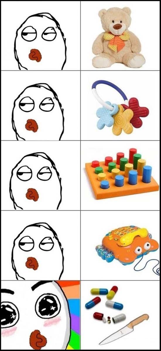 How babies work. ... OP's version