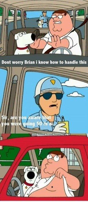 How to handle cops!