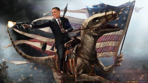 How we see Obama. #2termz.