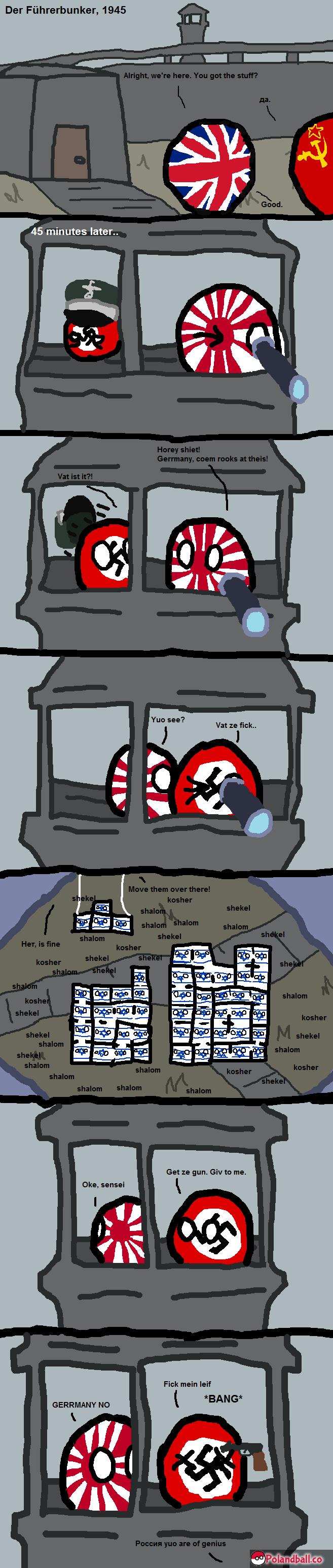 How World War II was really won. Source:www.polandball.co. 51 my ; my my
