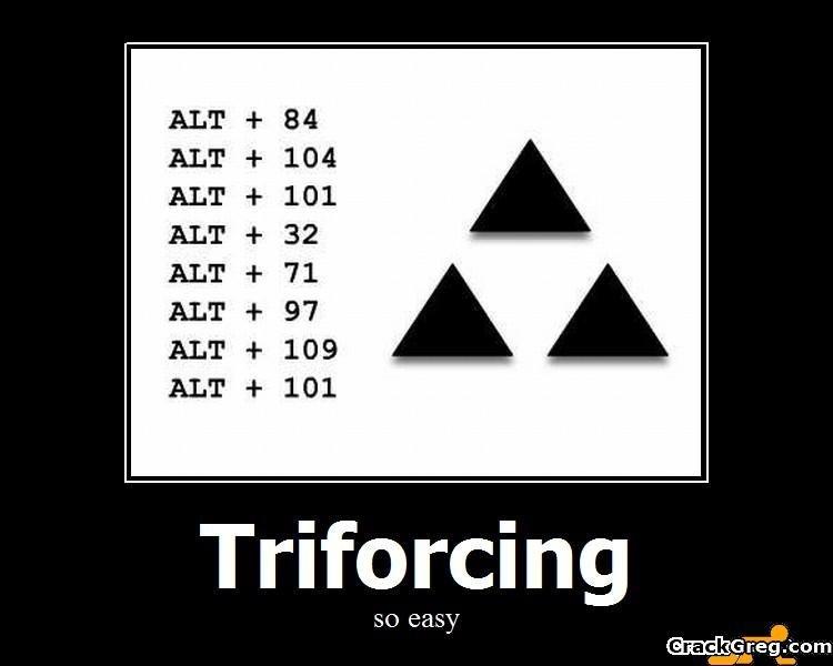 Трифорс как его сделать