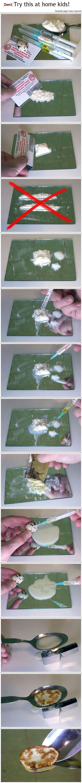 How to make pancakes like a junkie. Enjoy.. awesome! molodets, sam dodumalsya? :)