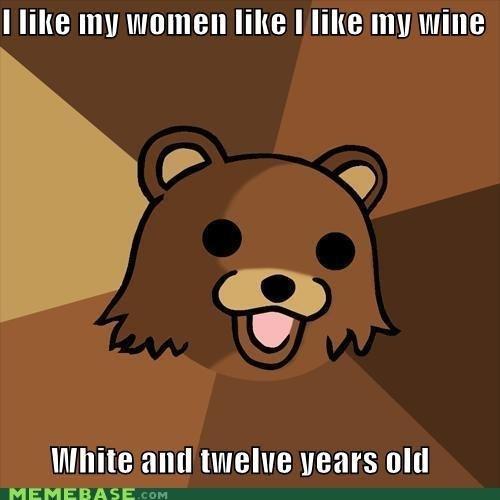 "How Pedo's Like Their women. . I ""HE ] riite I like Ill"" Mite Inxile all [I twelve gears old"
