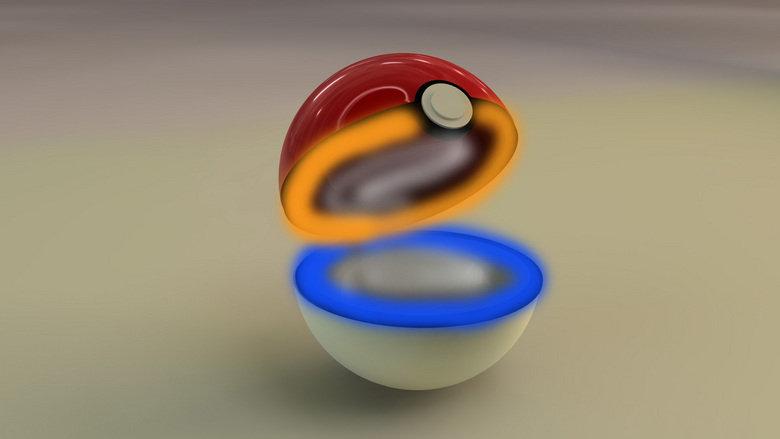 How pokeballs work. yes it is portals.. infinite loop.. SPAAAAAAAAAAAAAACE!!!!!