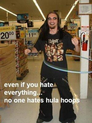 Hula hoops. .. RETOAST! hula hoops ring metal guy Hate Love