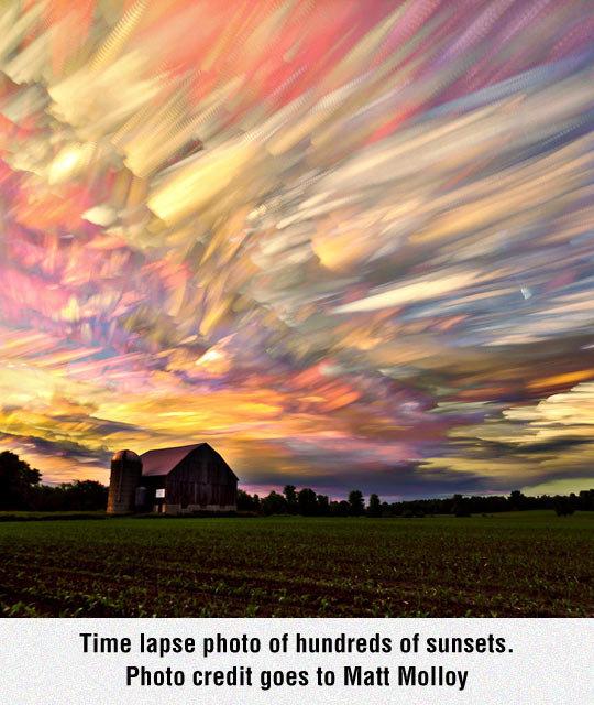Hundreds Of Sunsets. Hundreds Of Sunsets isfunny.net/funny-comic-pick-up-line/. Time lapse Moto of hundreds of sunsets. Photo goes he Matt Mullet: funny