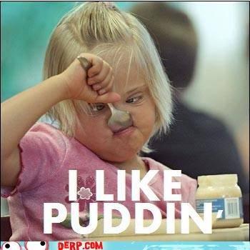 Hurr Durr I leik puddin. .. OMG KILL IT WITH FIRE!!!!