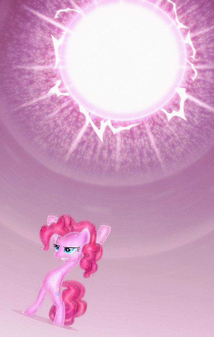 Hyperbolic Pinkie. .. 3 Episodes later.