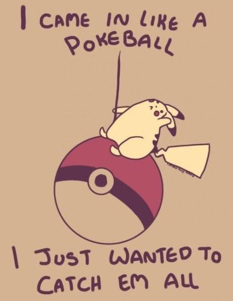 I Came In like A Pokeball. . Pokemon Wrecking Ball