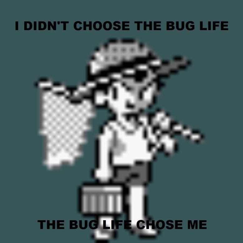 I didn't choose the bug life. it chose me.