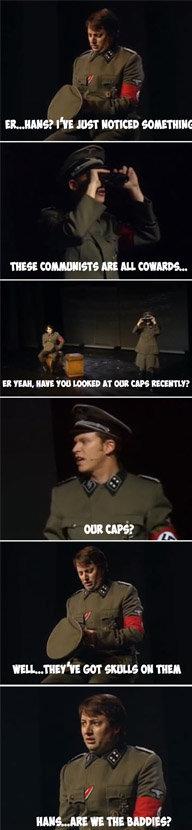 """I Do Nazi. . BMB? HST """" Willi rittle"""" ?"""