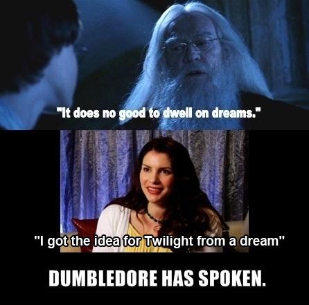 "I dont have an idea. . I gpt' the idea . yht fram a dream"" IIE MS SPOKEN.. lolollolol twilight is so bad xDDDDD I had no idea it was still 2011."