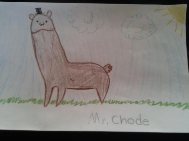 i drew an alpaca today at school /._./. .. alpenis