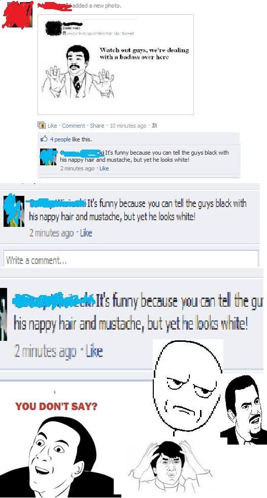 I hate people.. .