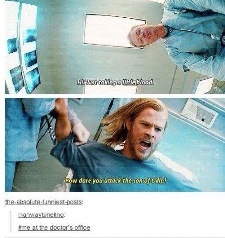 I hate the docThor.. .