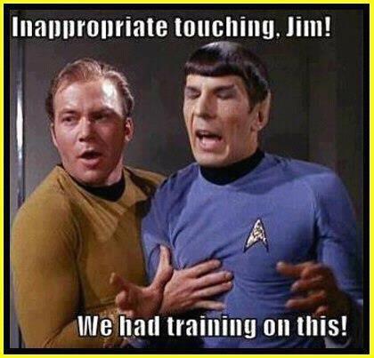 I hope Kirk-san notices be. Bakka. Source: Star Trek V: The Klingon Empire Strikes back.. Sexy