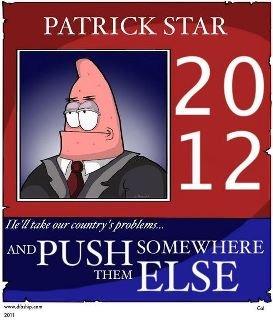 I know who I'm voting for. push them somewhere else.. PATRICK STAR H fiio S