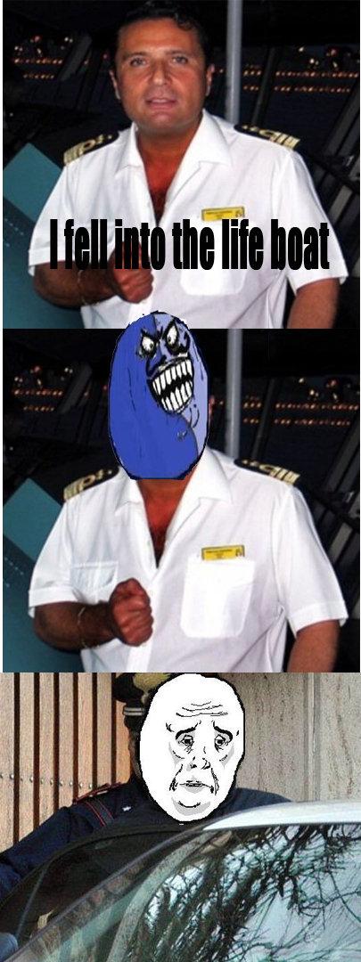 I lied captain. .