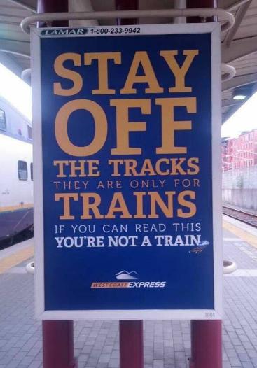 I like trains. trains.. Youngl NOT A TRAIN,. Blind people = Trains trains i like trains