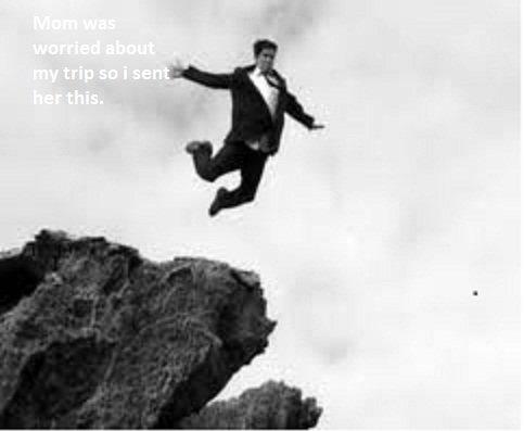 I'll be fine. . Jump