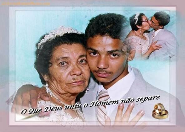I love you Grandma. .. Kinda looks more like a Grandad grandma wincest