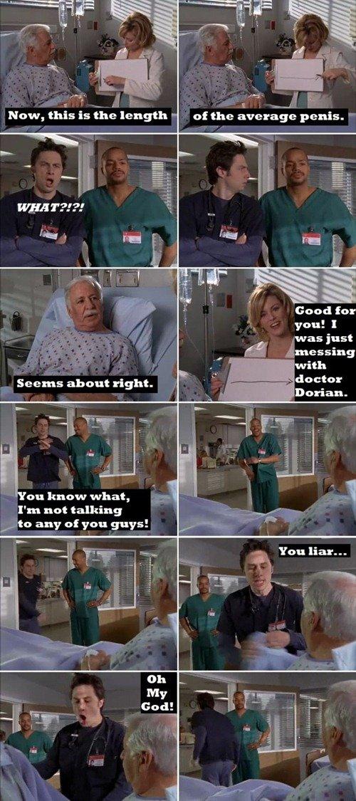 i miss scrubs. . You liar... i H My E If in