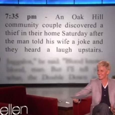I wonder what the joke was?. .