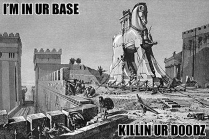 I'm In Ur Base. .