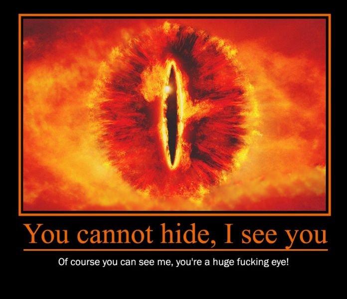Pics For > I See You Sauron Gif