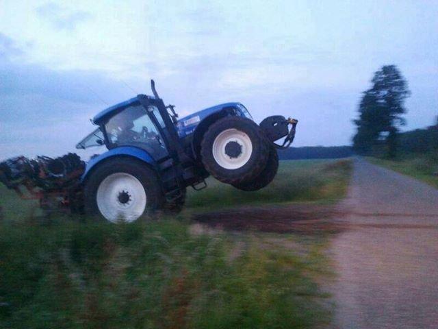 If the junctions empty.... ...Gie her plenty. tractors