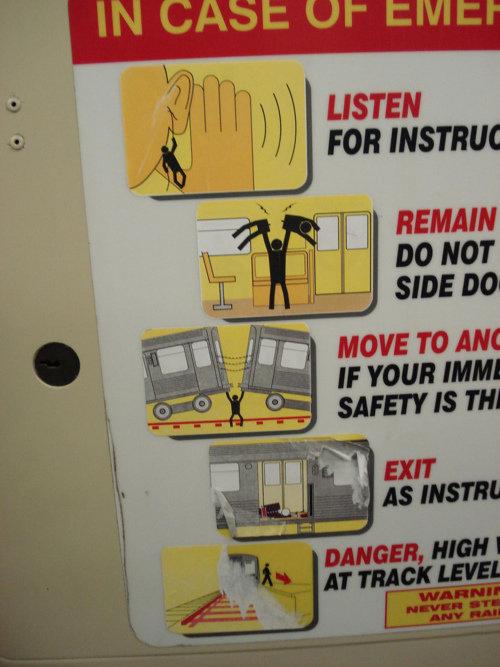 In case of Emergency. .