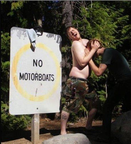 inb4 banana. .. Shirtless naked guy? That's a banning.