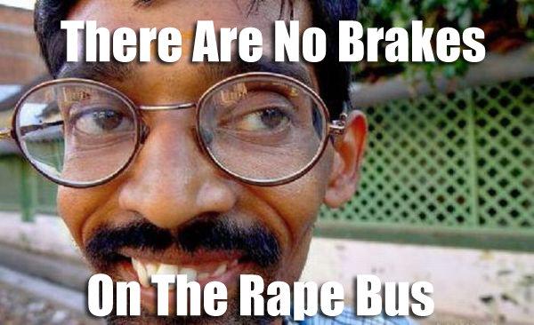 Indian Bus. the bus. tatt. The rape bus is a wild ride! Bus