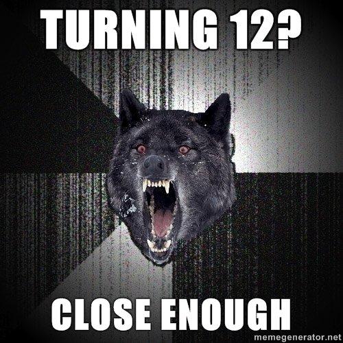 insanity wolf. meme generator.. holy im 12