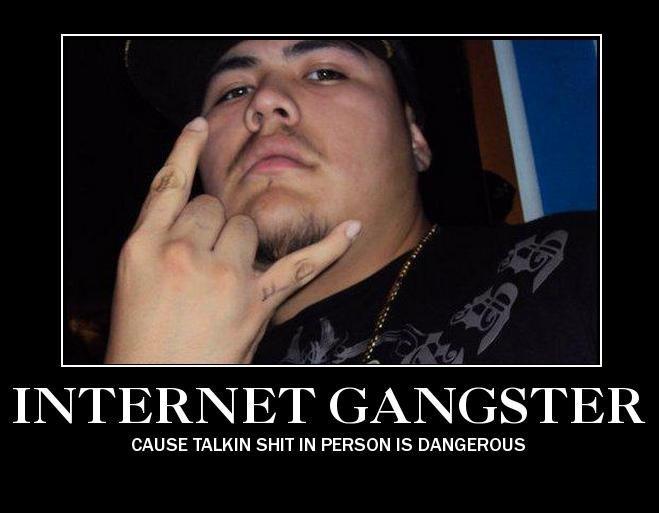 Internet Gangsters. Stan Kingzton. CAUSE TALKIN IN PERSON IS DANGEROUS. Really? internet gangste stan kingzton