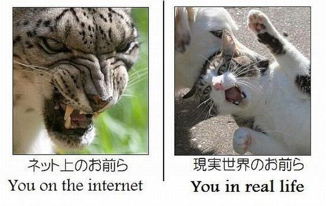 Online dating versus real life