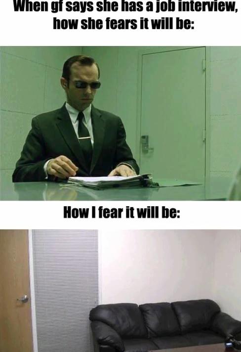 interview. .