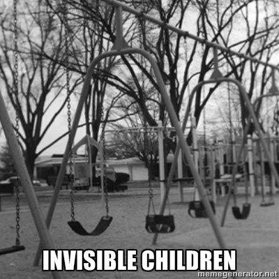 Invisible Children. Bit late... but OC.. ata